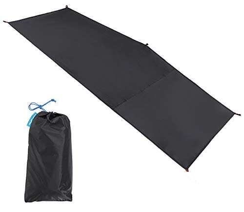 MIER 1-2 Person Ultralight Waterproof Footprint Outdoor Camping Tent Tarp Canopy Blanket Picnic Ground Sheet Mat, Ultralight Tent Fitted, 1 Person