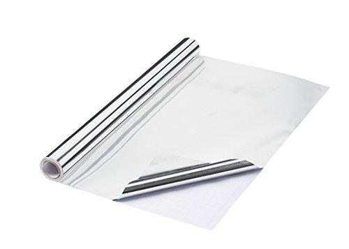 Spiegelfolie 40 cm x 2 m x 0,1 mm, selbstklebend