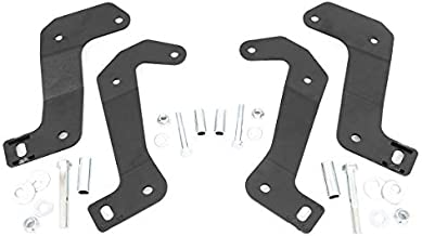 Rough Country Front Control Arm Relocation Kit (fits) 2018-2020 Jeep Wrangler JL Gladiator JT   3.5