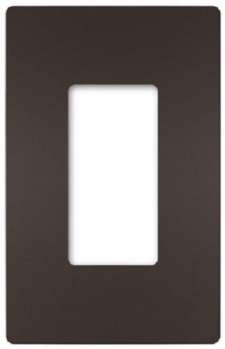 Placa de pared de 1 g, color marrón oscuro