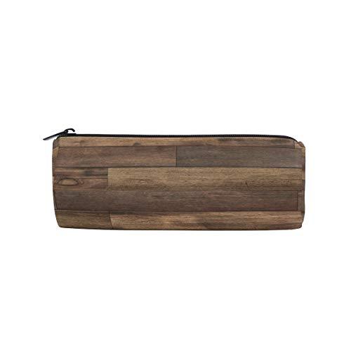Federmäppchen aus Holz, für die Schule, für Kinder, groß, Braun