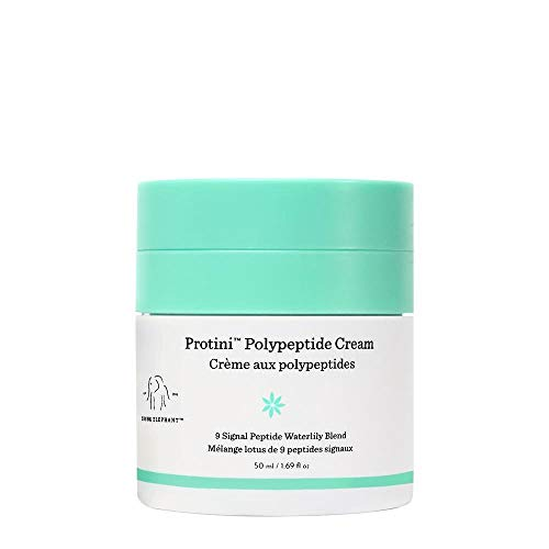 Drunk Elephant Protini Polypeptide Cream. Protein Face Moisturizer with Amino Acids. 50 Milliliters/ 1.69 Ounce.