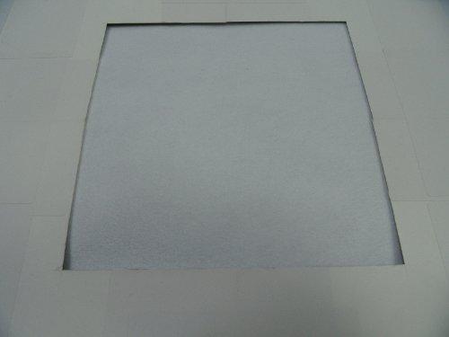 Nähkästchen-Gloor Stickfilz für die Nähmaschine (weiß)
