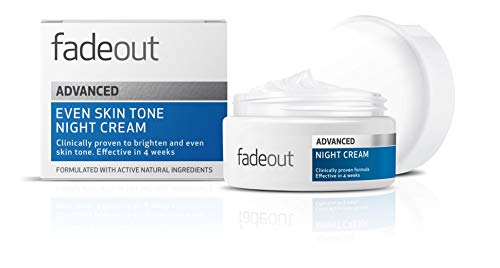 Fade Out Advanced Even Skin Tone Night Cream - With Niacinamide, Lactic Acid, and Rosehip Seed Oil, 50ml