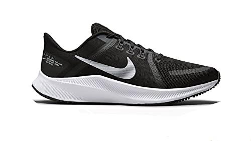 Nike Quest 4, Zapatillas para Correr Hombre, Black White Dk Smoke Grey, 42 EU