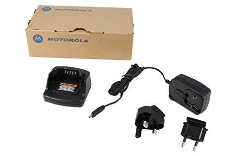 PMLN-6393A Cargador inteligente para walkie talkies Motorola XT-420 y XT-460 Esta compuesto por un Transformador PMPN4043A y una cazuela PMLN6383A