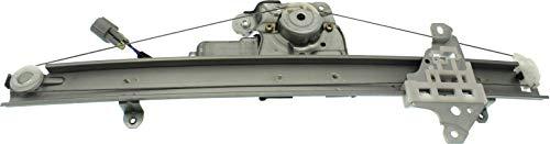 Evan-Fischer Front Window Regulator Compatible with 2014-2018 Nissan Rogue Power with Motor 2 Pins Passenger Side