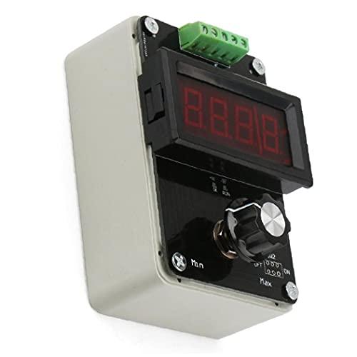 Generador de señal 0-20MA Simulador analógico de voltaje de corriente para ajuste de valor PLC Panel LED prueba Equipo de medidor de probador negro