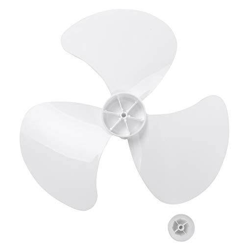 iEFiEL 5Piezas 16 Inches Aspas Hojas Plásticas de Ventilador para Ventilador de Techo Ventilador de Pie Ventilador de Mesa Repuestos Ventilador Blanco 16 Inch