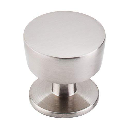 Top Knobs M1122 Nouveau III Collection 1-3/16' Essex Knob, Brushed Satin Nickel