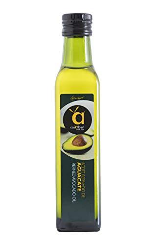 Casalbert Aceite De Aguacate. Ideal Para Cocinar A Alta Temperatura O Usar Frío En Ensaladas. Envase De Vidrio De 250 Ml