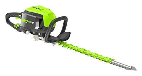 Greenworks Akku Heckenschere 80 V Strauchschere Elektroheckenschere Trimmer