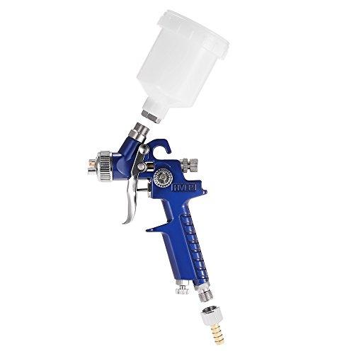 KKmoon HVLP Luft Spritzpistole Lackierpistole mit 0,8 mm Düse / Airbrush Kit Touch-Up Paint Sprayer / Gravity Feed Luft Pinsel Set / Auto Car Detail Malerei für Spot Repair