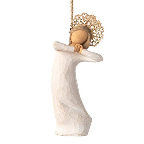 """Willow Tree Figurine, Polyresin, 2020 Ornament, 4\"""" high"""