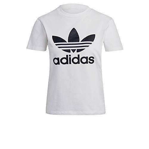 Adidas Koszulka damska Trefoil Tee, biała, 36