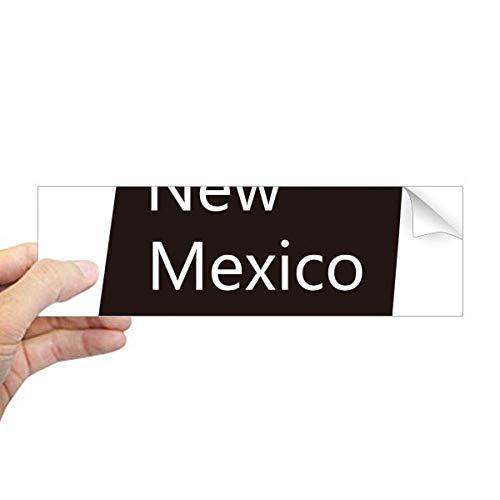 DIYthinker New Mexico USA kaart Silhouette Rechthoek Bumper Sticker Notebook Window Decal