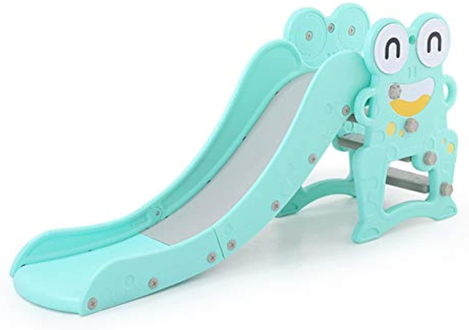 Slide Lengthen and Climber with Ball Rack Durable Outdoor Slide and Climber with Ball Game Accessories Suitable for 27 Years Old