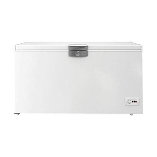 BEKO hsa47520autonome Premiumqualität 451L A + Weiß Gefrierschrank–Tiefkühltruhen (Premiumqualität, 451L, 20kg/24h, sn-t, A +, weiß)