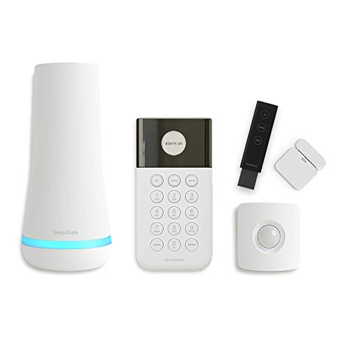 SimpliSafe 5 Piece Wireless Home Security System - Optional 24/7...