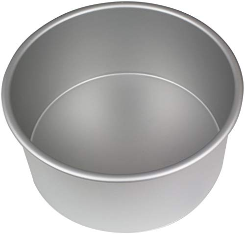 PME RND084 Runde Backform aus eloxiertem Aluminium, 203 x 102 mm, Silver, 20.3 cm