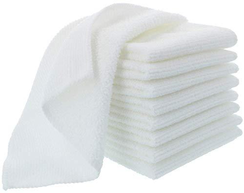 com-four 9X Toallitas Microfibra Premium Limpieza Facial - gsm 300 gr/m² - Toalla Desmaquillante Suave para Desmaquillar