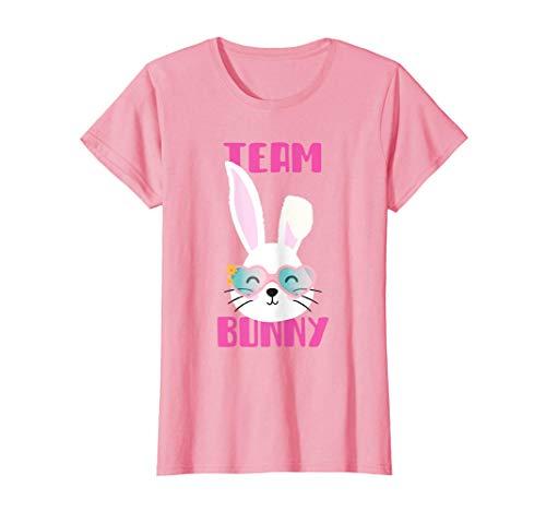 Pascua Chica Mujeres Regalo de Pascua Conejo Team Bunny Camiseta