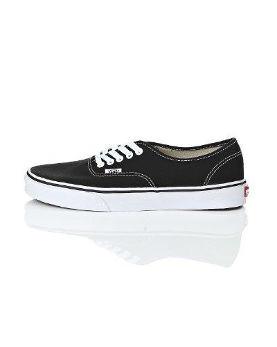 Vans Classic Authentic Black Canvas Skate Shoes Black 7.5 D(M) US
