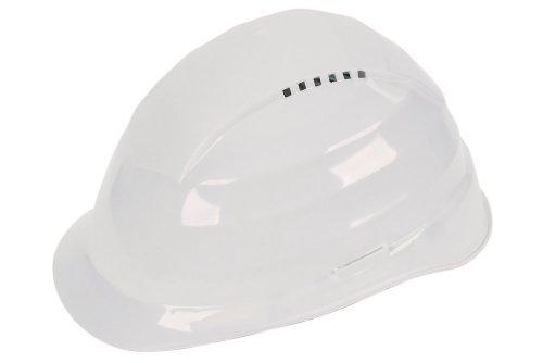 WOLFCRAFT 4855000 casco protector blanco, DIN EN 397:2005-05 (CE) PACK 1