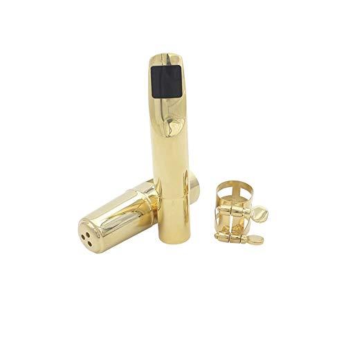CBLD Alto-Saxoaxophon-Mundstück-Metall mit Mundstückpads Musikinstrumententeile (Size : C8)