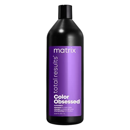 Matrix Matrix Total Results Color Obsessed Shampoo, 33.79 Ounce Bouchon d'oreille 2 Centimeters Noir (Black)