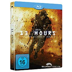 13 Hours: The Secret Soldiers of Benghazi - Limited Steelbook Edition (Blu-ray)