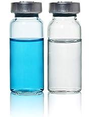 Viales de 10 ml/frasco transparente estéril