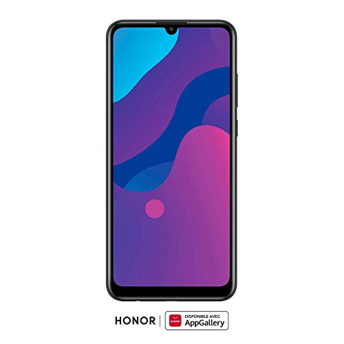 HONOR 9A Dual-SIM Smartphone - Midnight Black (6,3 Zoll Display, 64 + 3GB, Android 10 AOSP ohne Google Play Store, Magic UI 3.1) + 13MP Triple-Kamera + 8MP Frontkamera – Deutsche Version