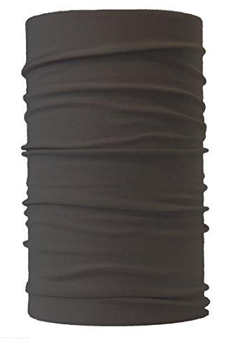 HeadLOOP Multifunktionstuch Schal Halstuch Kopftuch Microfaser (Grau)