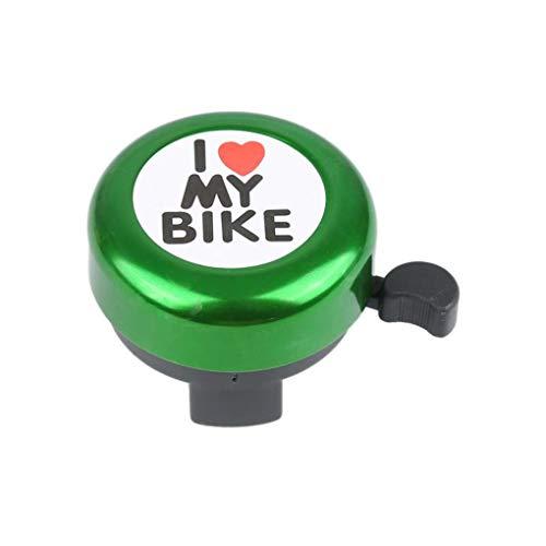 DFLYHLH Bicycle Ring Bell Bicycle Handle Alarm Bike Metal Crisp Sound Handlebar Horn Random Color Warning