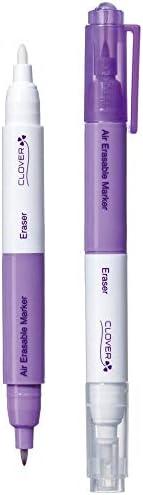 Clover 5030 Extra Fine Air Erasable Marker Purple