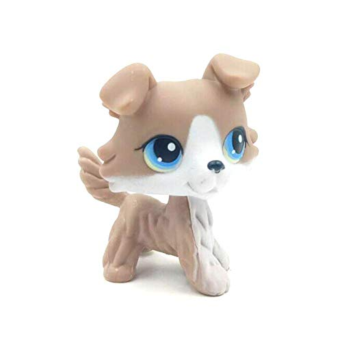 VUBD Pet Shop Kid Toy LPS CAT Original pet Shop Toys Collie Dogs Girls Birthday Gifts Old Original Animals Figures 67