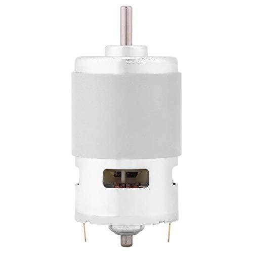 12V 0.32A 150W 13000-15000RPM DC Motor cepillado Par grande Gran potencia Adecuado para herramientas eléctricas, ventiladores eléctricos, limpiadores eléctricos, etc.