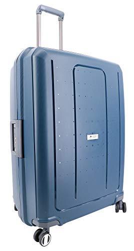 Large Suitcase 75 cm 4 Wheels 100% Polypropylene Airtex Secure Closure 3 Points Blue Marine 75 x 54.5 x 31 cm