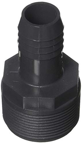 GENOVA PRODUCTS - 1x1-1/2MIP Red Adapter