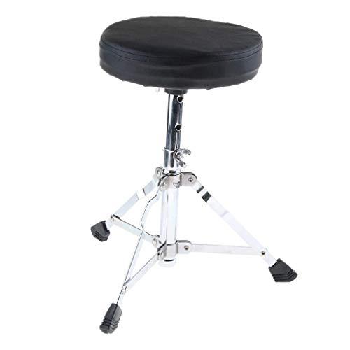 Tubayia Höhenverstellbar Schlagzeughocker Drumhocker Schlagzeug Hocker Drummersitz