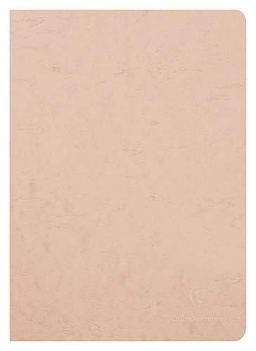 Clairefontaine 733000C Heft AgeBag (DIN A4, 21 x 29,7 cm, blanko, ideal für Ihre Notizen und Zeichnungen, 48 Blatt) 1 Stück braun
