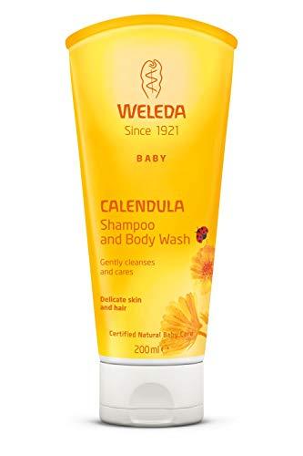 Weleda Baby Calendula Shampoo and Body Wash, 200ml