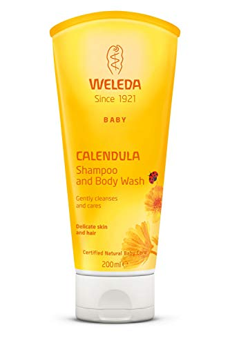 Weleda Baby Calendula Shampoo and Body Wash, 200ml
