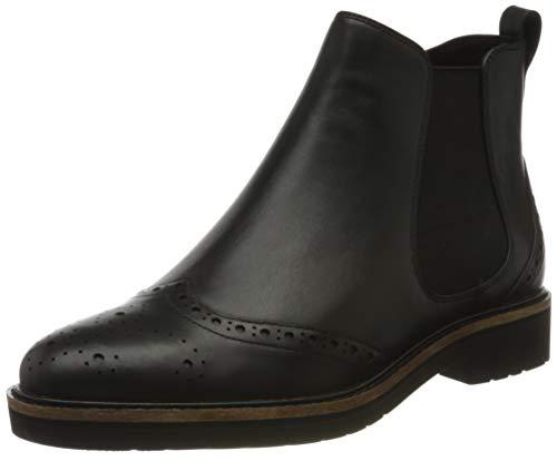 Rockport Total Motion Abelle Wingtip Boot, Bottes Chelsea Femme, Noir (Black 002), 39 EU