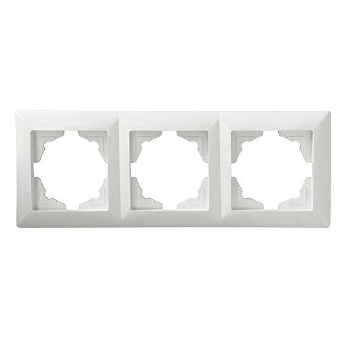 Visage 3-fach Rahmen für 3 Steckdosen Schalter Dimmer
