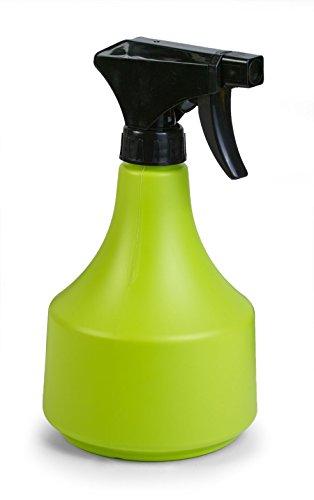 Floralo Plastique Buse Spray Bouteille, 0,5 l, Vert Citron, 10 x 10,5 x 19,3 cm