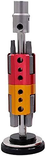 LUNE Bike Hexagon Destornillador, Conjunto de Llaves de Herramientas de reparación Invisible, Kit portátil multifunción de Aluminio Negro