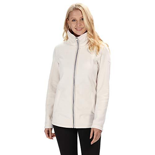 Regatta Fayona Damen Fleece-Jacke mit durchgehendem Reißverschluss XXL Light Vanilla(Silver)