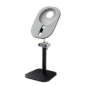 高さと角度の調整が可能な MagSafe充電器用スタンド